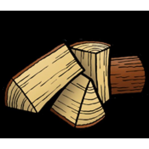 Speksteenkachel 3-4 blokken tegelijk stoken
