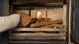 hout stoken zwitserse methode aansteken