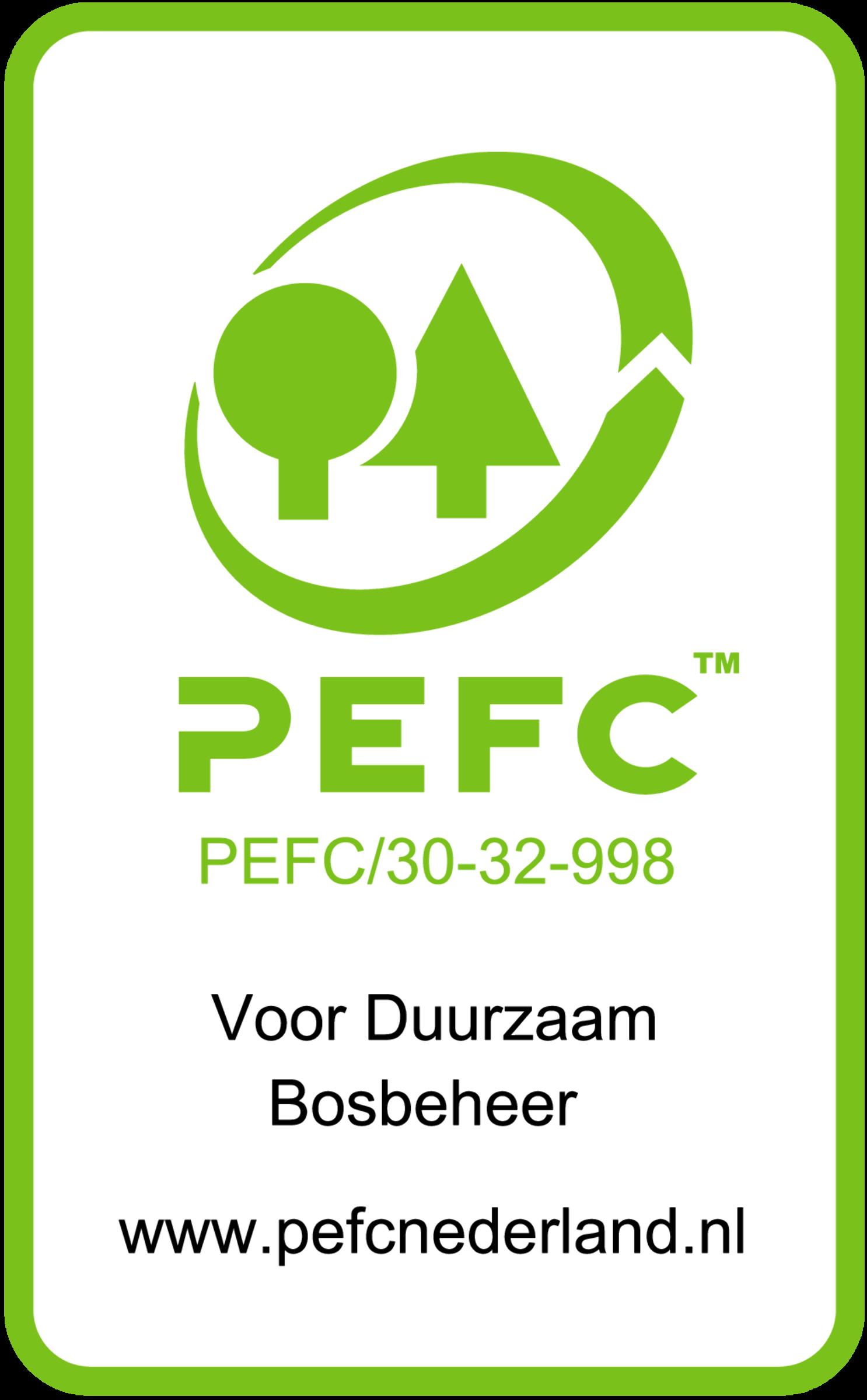 PEFC gecertificeerd